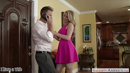 Blonde wife Courtney Cummz ride cock
