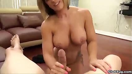 ct-Horny sexbomb POV blowjob