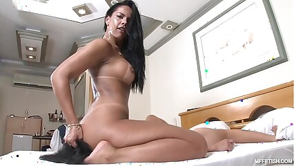 Cruel Face Fucking with Nanda Rios - Cold-Blooded Brazilian Domina
