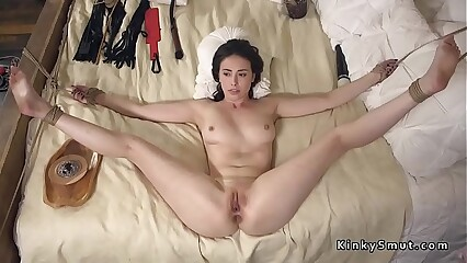 Master from cult rough fucks new bride