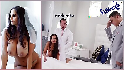 BANGBROS - Big Tits MILF Bride Ava Addams Fucks The Best Man