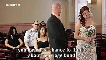 CRAZY PORN WEDDING
