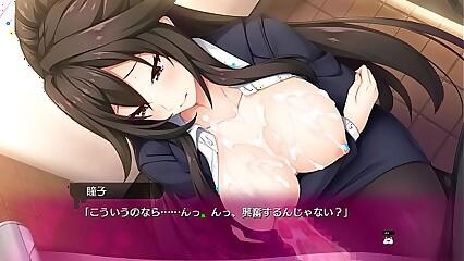 BUKKAKE hentai game 16