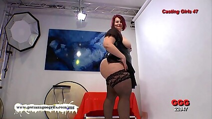 Redhead BBW Kim - German Goo Girls