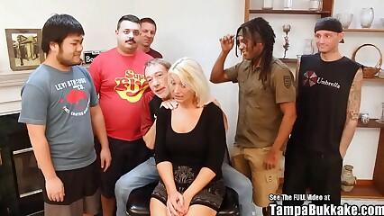 ANAL Southern Blonde MILF Diversity Bukkake Bang