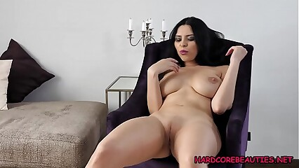 Kira Queen stretching the camel toe