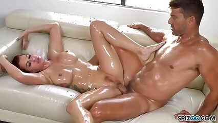 Hot Savana Styles gets Oiled and Fucked hard by Ramon Nomar - Spizoo