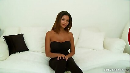 Sex Video Casting With Hot Bombshell Krystal Webb Makes Your Dick Hard