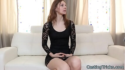 Skinny redheads casting with fake agent