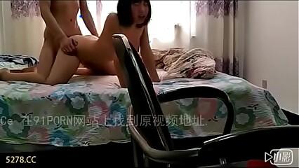 Chinese Couple Cum Inside Homemade