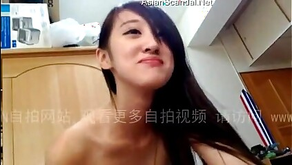 Chinese Girlfriend Sucking Cock and Begging to Fuck