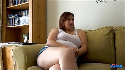 Chubby Girl Laura Lu Hungry For Cock