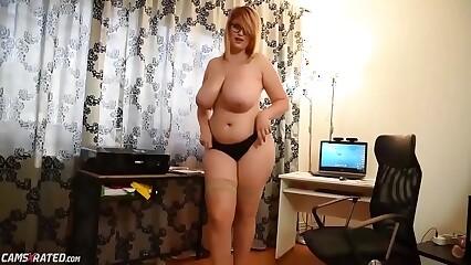 Chubby Busty Maid Masturbating Online