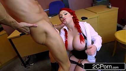 Little High School Whore Harmony Reigns Gets Proper Big Cock Punishment