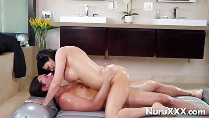 Busty sensual cowgirl Jasmine Jae