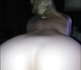 Hot milf ride reverse cowgirl