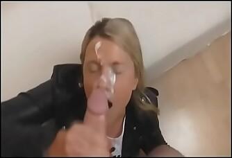 Amateur Blonde Cumshot Compilation