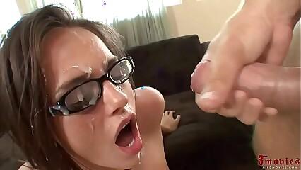Cumshot on Glasses