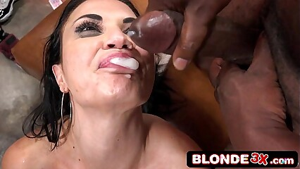 Interracial Monster Cock Cumshot Compilation #14 Anna Bell Peaks, Brooklyn Chase