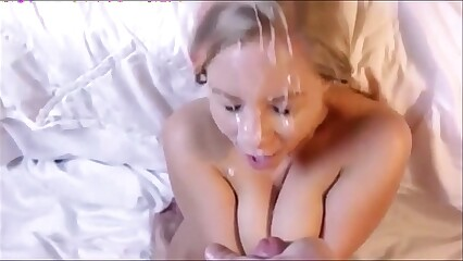 Big massive huge facial cumshot compilation