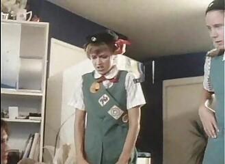 Cute petite teen scout girl fuck