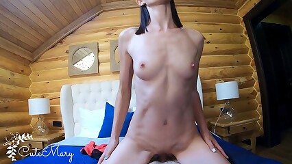 ROMANTIC SEX ENDED WITH HUGE CUMSHOT ON MY FACE