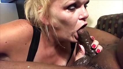 Jenna Jaymes Extreme Slobbering Deepthroat Of BBC