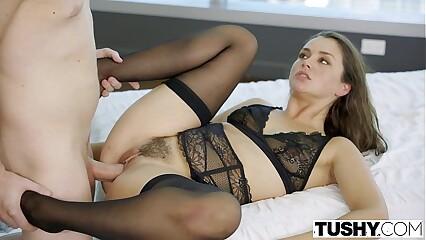 TUSHY Cheating Wife Allie Haze loves Anal