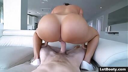 Bubble culo and huge tits sexy latina MILF Julianna Vega