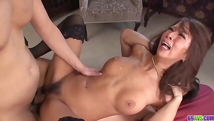 Ema Kisaki amateur anal along males with big cocks - More at 69avs com