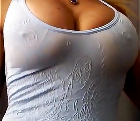 My aunt has a great pair of big tits and ass delicious
