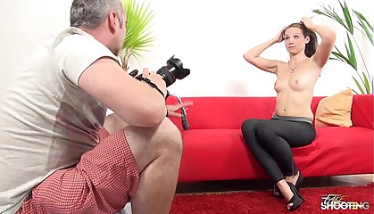 College babe tricked into Sex at Model Casting