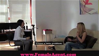 FemaleAgent Steamy casting