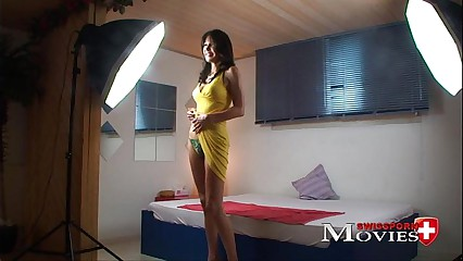 Eva sexy lady fucked in porn casting