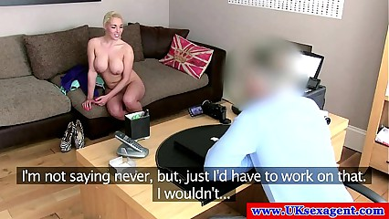 British amateur fucked on casting couch