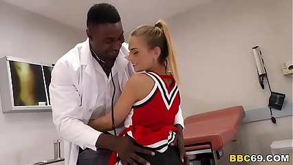 Pretty Teen Sydney Cole Fucks Doctor's BBC In A Hospital