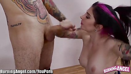 YouPorn - BurningAngel Emo Cheerleader Ass Fucked