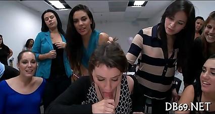 Angels watche their friend suck cock
