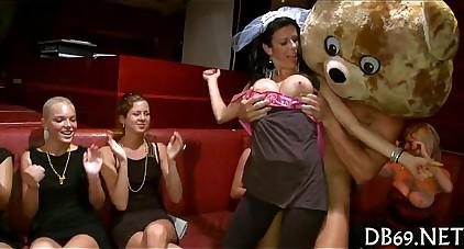 Cfnm movie scene porn