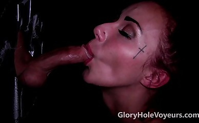 Gloryhole Blowjob Cum Shot Compilation