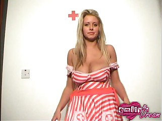 EmilysDream becomes a naughty nurse