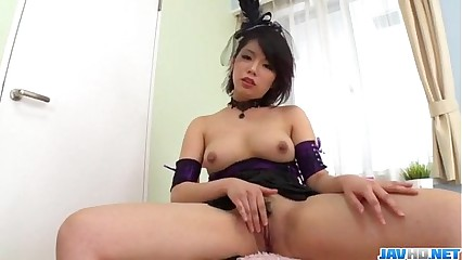 Superb solo porn play for busty Mei Ashikawa
