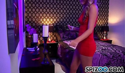 Spizoo - Teen Alexis Adams is punished by a big dick, big booty and big boobs