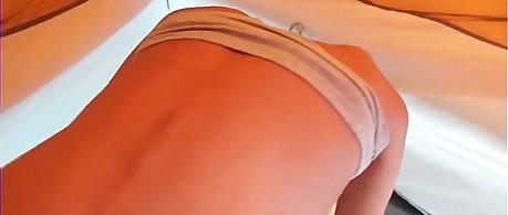 Hot Latina Slut Sucks and Fucks