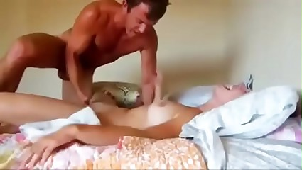 Thick ass girl riding reverse cowgirl
