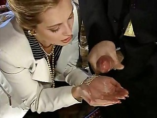 Laure Sainclair Cumshot Compilation Part 02