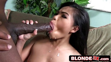 Interracial Monster Cock Cumshot Compilation #3 Asphyxia Noir, Bridgette B