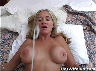 Hot Wife Rio cumshot complilation