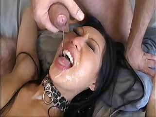 Tia Ling Facial Cumshot