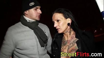 STREETFLIRTS.com amateur babes threesome